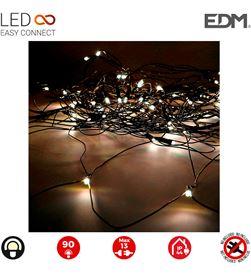 Edm cortina red easy-connect 2x1,5mts 90 leds blanco calido 30v (interior-exter 8425998712681 - 71268
