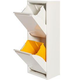 No armario metalico reciclaje 2 cajones blanco 8027410001078 - 77010