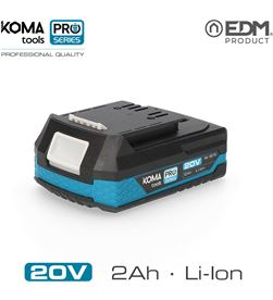 Koma bateria litio 20v 2.0 ah tools pro series battery edm 8425998087703 - 08770