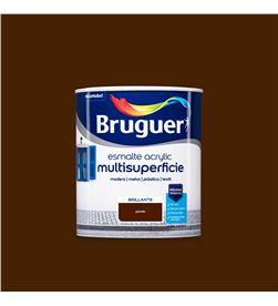 Bruguer esmalte acrylic multisuperficie brillante pardo 0,750l 8429656125271 - 25010