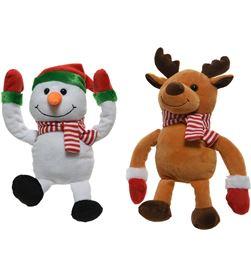 Decoris muñeco navideño volteretas 2 modelos surtidos 8718533306477 - 72017