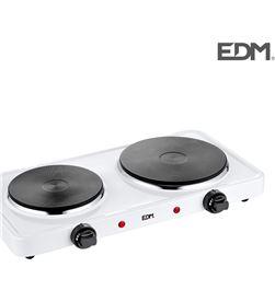 Edm cocina electrica - 2 fuegos - 1000-1500w - 8425998076615 - 07661