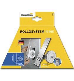 Schellenberg recogedor empotrable para persiana 50x244x140mm (dist.taladro 215mm) 4003971114055 - 87060