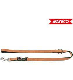 Nayeco correa verde-beig forest-british x-trm doble premium 200cm x 1.5cm 8427458018692 - 06976