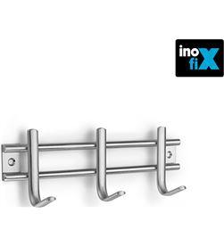 Inofix colgador acero inox 3 ganchos (blister) 8414419371613 - 66527