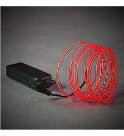 Luca cuerda de neon color rojo 275cm 8718861660463 - 71836