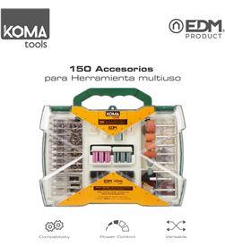 Koma set de 150 accesorios tools para mini herramienta multiusos rotativa 8425998087345 - 08734