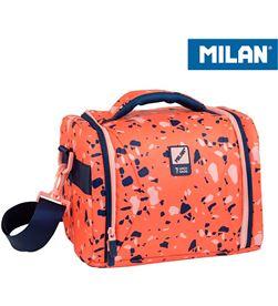 Milan bolsa isotermica porta alimentos gran capacidad naranja 8411574088158 - 64158