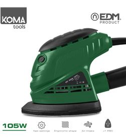 Koma lijadora tipo mouse 105w tools edm 8425998087079 - 08707