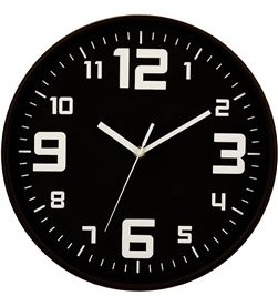 Five reloj color negro ø30cm 3560239275879 HOGAR - 83371