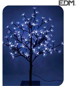 Edm arbol 3d sakura tronco recto 60cm 120 leds azul (interior) 8425998718843 - 71884