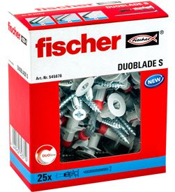 Fischer pack 25 duoblade s + tornillo 4048962323719 - 96144