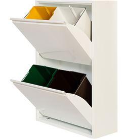 No armario metalico reciclaje 4 cajones blanco 8027410001115 - 77012