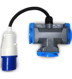 Bellson 46020 #19 adaptador cetac con cable + triple shucko 8719274340089 - 46020