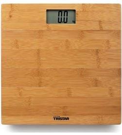 Tristar WG-2432 báscula de baño / hasta 180kg/ bambú - TRIS-PAE-BAS WG-2432