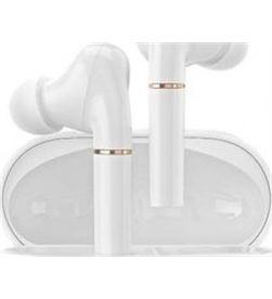 Xiaomi T19 WH auriculares bluetooth haylou t19 con estuche de carga/ autonomía 5h/ blanco - HAY-AUR T19 WH