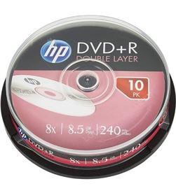 Verbatim DRE00060-3 dvd+r hp dl 8x/ tarrina-10uds Almacenamiento - HP-DVD+R DRE00060-3