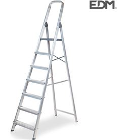 Edm 75056 #19 escalera domestica aluminio 7 peldaños 8425998750560 - 75056 #19