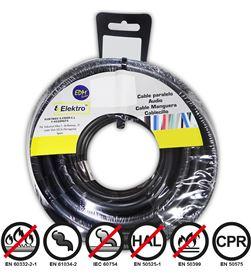 Edm 28421 #19 carrete cablecillo flexible 1,5mm negro 25mts libre-halogenos 8425998284218 - 28421 #19