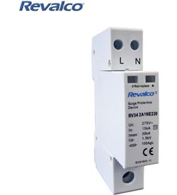 Revalco 02543 #19 protector sobretension 1p+n 30ka 275v transitorio 1 modulo 1803303220934 - 02543 #19