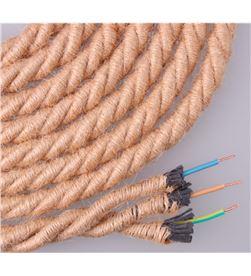 Edm 11979 #19 cable de cuerda de yute trenzada 3x0,75mm 20mts ø12mm euro/mts 8425998119794 - 11979 #19