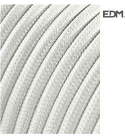 Edm 11856 #19 cable cordon tubulaire 2x0,75mm c01 blanco 5mts 8425998118568 - 11856 #19