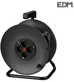 Edm 20115 #19 enrollacables con protector termico 3 x1,5mm 25mts 4 tomas 8425998201154 - 20115 #19