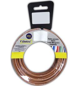 Edm 28572 #19 carrete cablecillo flexible 6mm marron 10mts libre-halogenos 8425998285727 - 28572 #19