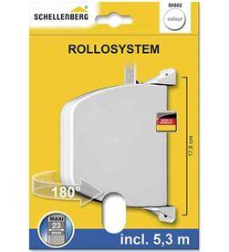 Schellenberg 87052 #19 recogedor exterior abatible 34x188x156mm blanco giratorio 180º 4003971508021 - 87052 #19