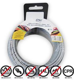 Edm 28419 #19 carrete cablecillo flexible 1,5mm gris 20mts libre-halogenos 8425998284195 - 28419 #19