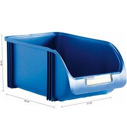 Plastiken contenedor 30cm titanium azul 8412524019611 - 77154 #19