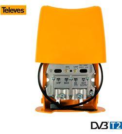 Televes 52028 #19 amplificador de mástil tdt 2 generación nanokom 8424450201732 - 52028 #19