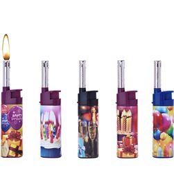 Polyflame encendedor cobia happy birthday modelos surtidos recargable euro/u 3661075174804 - 08104 #19
