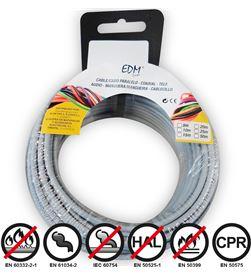 Edm 28454 #19 carrete cablecillo flexible 2,5mm gris 5mts libre-halogenos 8425998284546 - 28454 #19