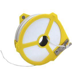 Edm 74231 #19 hilo plastificado blanco con dispensador 4mmx50mts 8425998742312 - 74231 #19