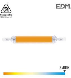 Bombilla lineal led 118mm r7s 12w 1250 lm 6400k luz fria ø 16mm Edm 8425998983609 - 98360 #19