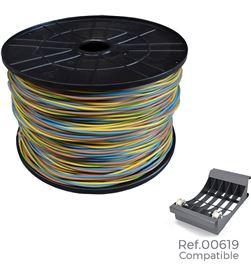 Edm 28912 #19 carrete cablecillo 3 cables*1,5mm 400mts de cada cable, total 1200mts (azul 8425998289121 - 28912 #19