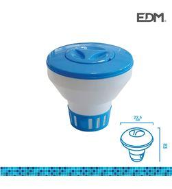 Edm 81013 #19 dispensador de quimicos flotante pastilla grande ø 22,5x20cm 8425998810134 - 81013 #19