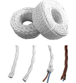 Edm 11906 #19 paralelo textil trenzado 3x2,5mm blanco euro/mts 8425998119060 - 11906 #19