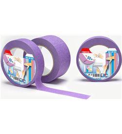 Geko 47426 #19 cinta masking lila 50mmx50mts baja adhesividad para superficies delicadas 8014846534249 - 47426 #19
