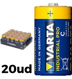 Varta 38593 #19 pack 20 pilas lr14 c industrial pro 4008496356515 - 38593 #19