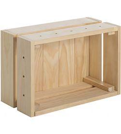 Astigarraga 75273 #19 caja de pino macizo home box sin barniz 38,4x25,6x28cm 8422341599050 - 75273 #19