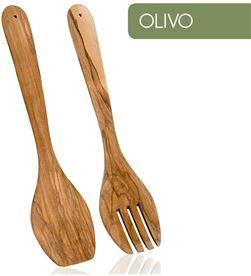 Metaltex 75582 #19 cubierto ensalada madera de olivo 8002525806305 - 8002525806305