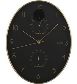 Mica 83565 #19 reloj de pared andy color negro-dorado ø 35x4.5 cm 8718861619027 - 83565 #19