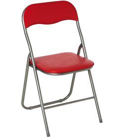 Atmosphera 83652 #19 silla plegable de cocina rojo 44x48x79.5cm 3560238963418 - 83652 #19