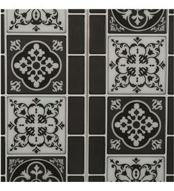 Atmosphera sticker decorativo modelo azulejo negro 3560239687467 - 83637 #19