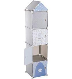 Atmosphera 83610 #19 columna de almacenamiento infantil gris/azul 3560238909843 - 83610 #19