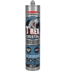 Soudal 96420 #19 sellador t-rex cristal 290ml 5411183087552 - 96420 #19