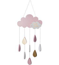 Atmosphera 86323 #19 movil infantil modelo nube color rosa 3560238325933 - 86323 #19