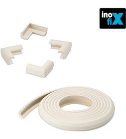 Inofix 66506 #19 rollo protector cantos 2mts + 4 esquineras blanco (blister) 8414419012677 - 66506 #19